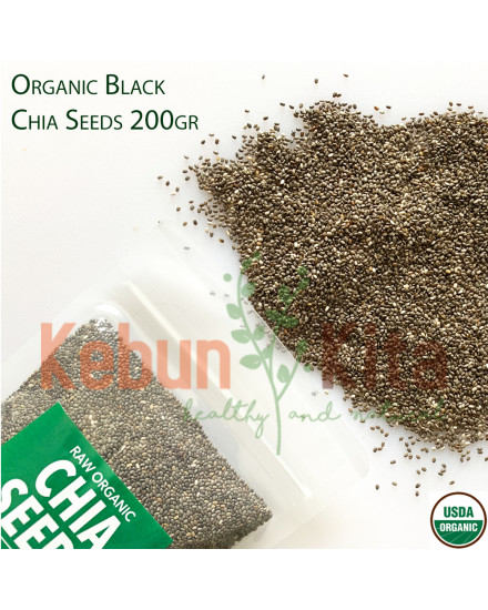 Organic Black Chia Seeds (Mexico)