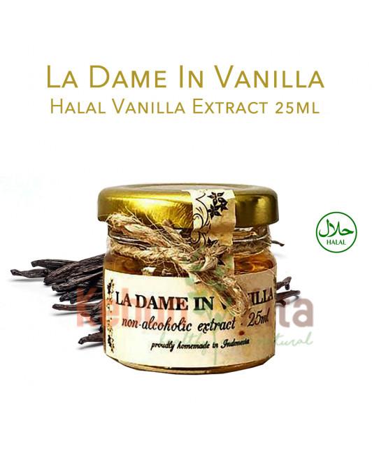 La Dame in Vanilla Halal Vanilla Extract