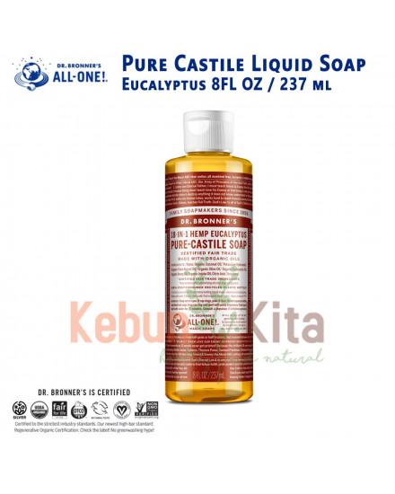 Dr Bronner's Eucalyptus Pure Castile Liquid Soap