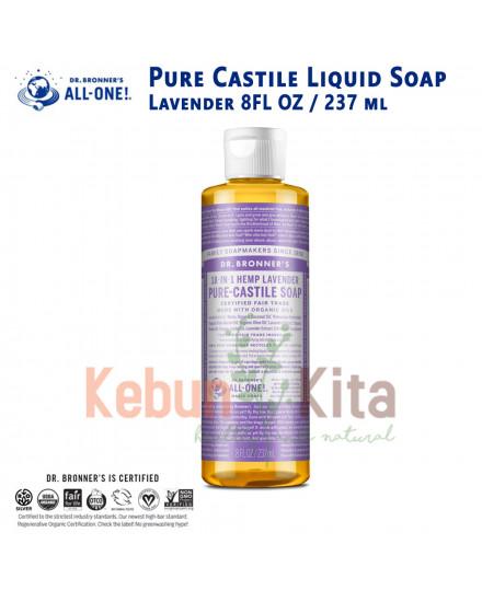 Dr Bronner's Lavender Pure Castile Liquid Soap