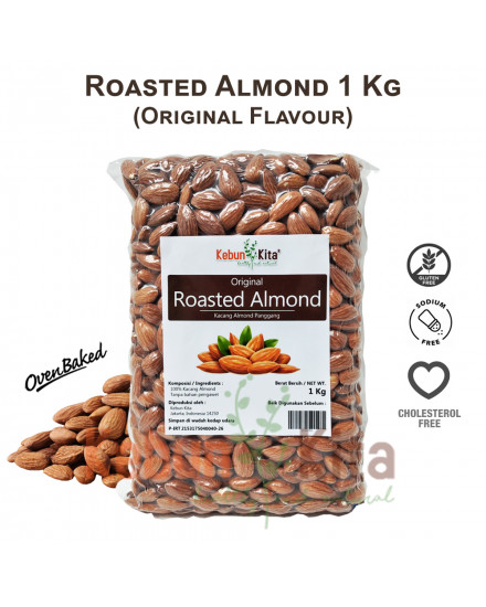 Kacang Almond Panggang (Roasted Almond)