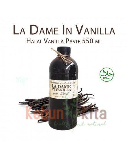 La Dame in Vanilla Halal Vanilla Paste 550ml