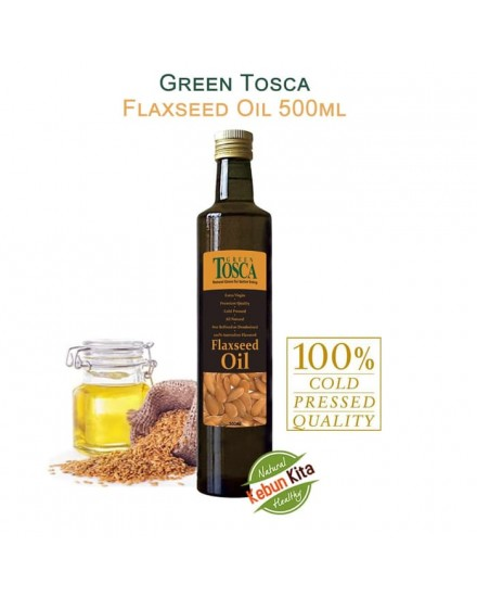 Green Tosca Flaxseed Oil 500ml