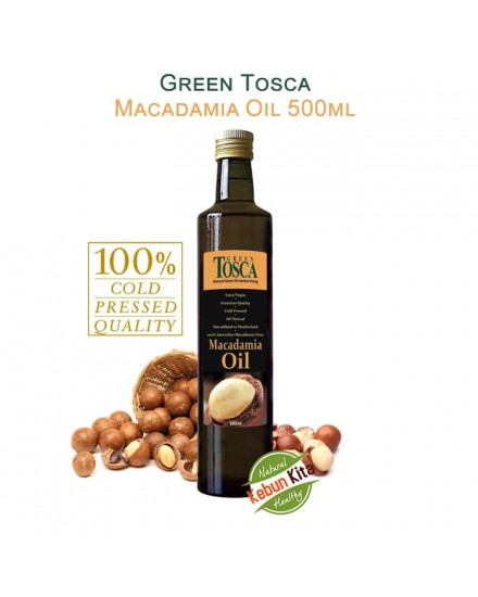 Green Tosca Macadamia Oil 500ml