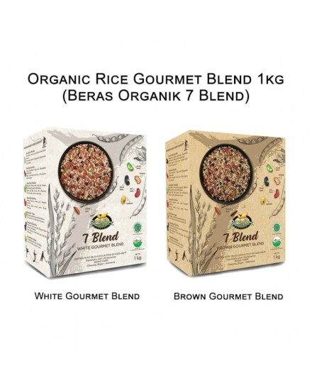 Organic Rice Gourmet Blend 1kg