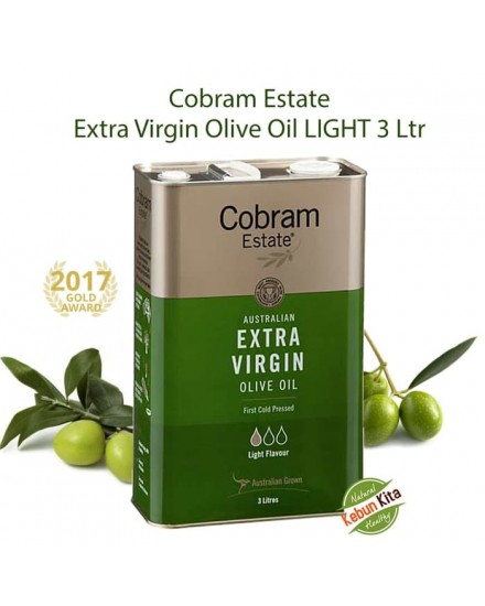 Cobram Estate LIGHT Extra Virgin Olive Oil 3 LITER