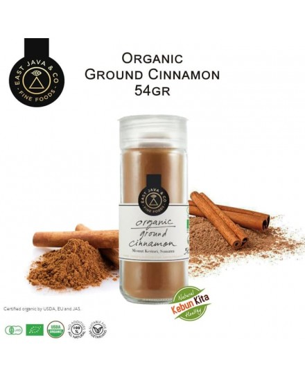 Organic Ground Cinnamon 54gr (Kayu Manis Bubuk)