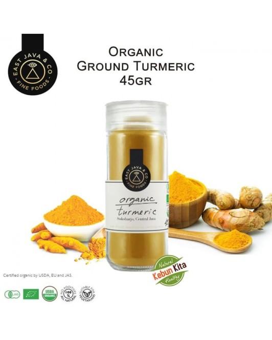 Organic Ground Turmeric 45gr (Kunyit Bubuk)