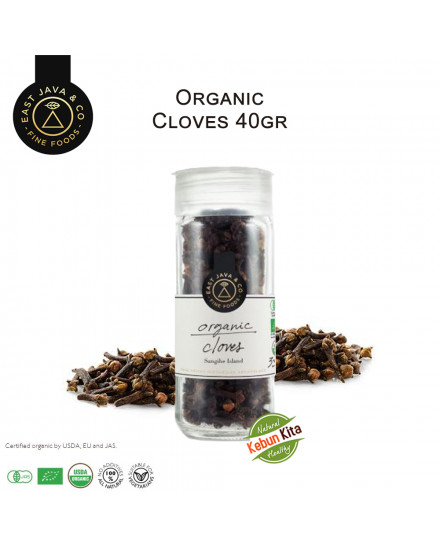 Organic Whole Cloves 40gr (Cengkeh)