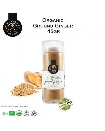 Organic Ground Ginger 45 Gr