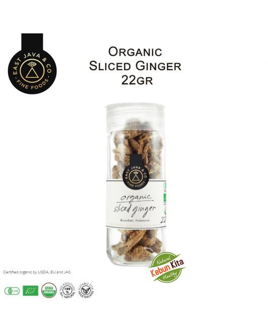 Organic Sliced Ginger 22 Gr