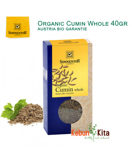 Organic Cumin Whole ( Jinten ) 40 gr