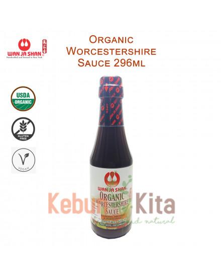 Wan Ja Shan Organic Worcestershire ( Kecap Inggris ) 296 ml