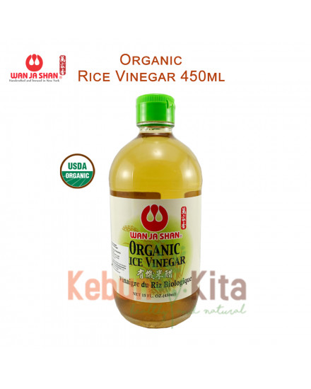 Wan Ja Shan Organic Rice Vinegar 450 ml