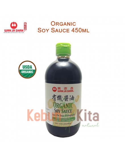 Wan Ja Shan Organic Soy Sauce 450 ml