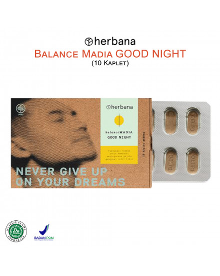 Herbana Balance Madia Good Night - 10 Kaplet