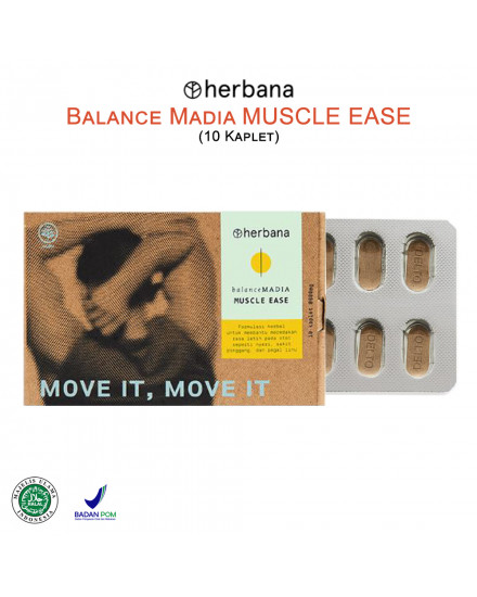 Herbana Balance Madia Muscle Ease - 10 Kaplet