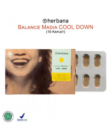 Herbana Balance Madia Cool Down - 10 Kaplet