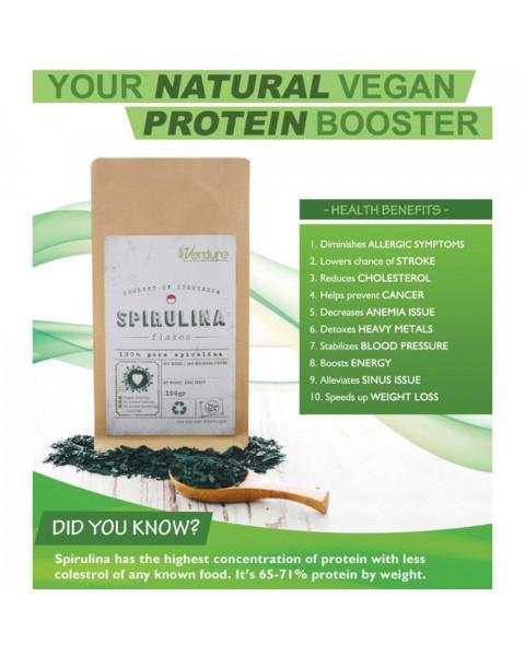 Verdure Spirulina 100 gr