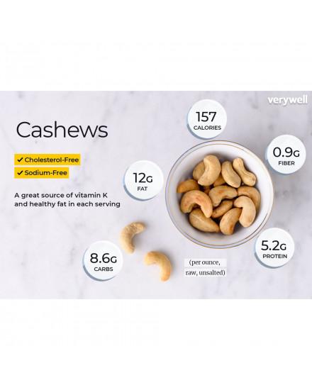 Natural Raw Cashew Nut (Kacang Mete Mentah)