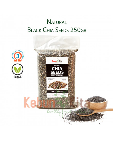 Natural Black Chia Seeds
