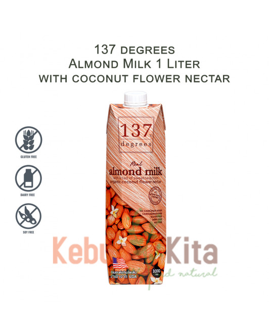 137 degrees Almond Milk with Coconut Flower Nectar