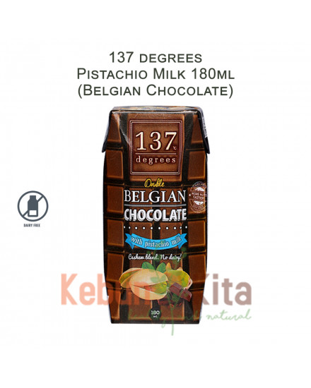 137 degrees Pistachio Milk with Belgian Chocolate