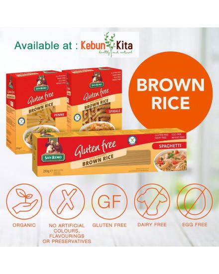 San Remo Gluten Free Organic Brown Rice