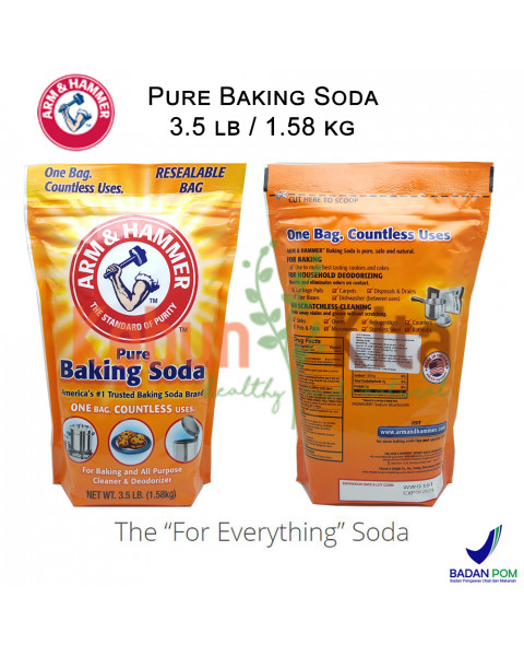 Arm and Hammer Pure Baking Soda Bag