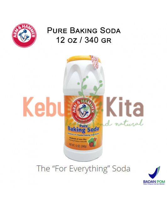 Arm and Hammer Pure Baking Soda Shaker 340 gr