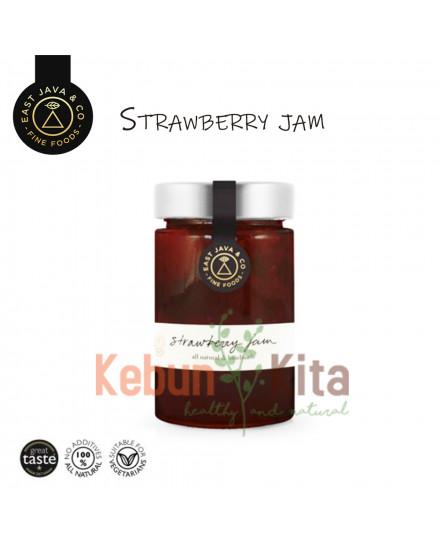 East Java and Co Strawbery Jam 250 Gr