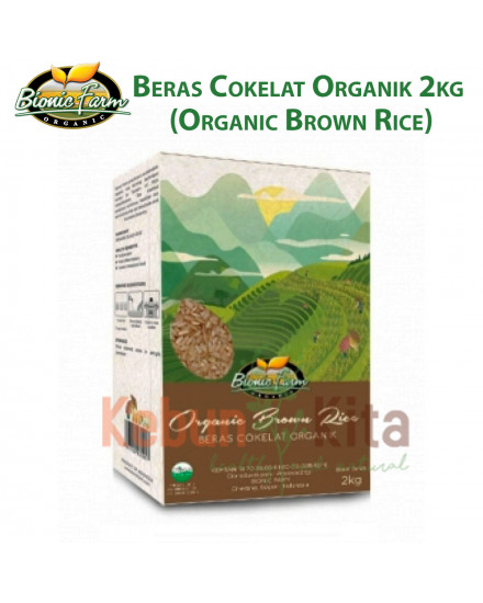 Bionic Farm Beras Cokelat Organik 2 Kg