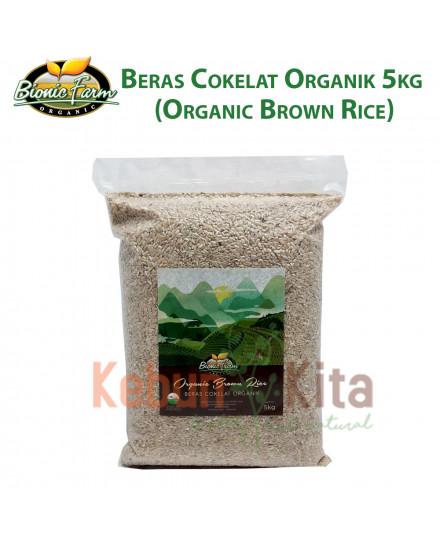 Bionic Farm Beras Cokelat Organik 5Kg