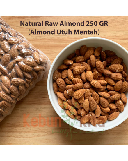Kacang Almond (Natural Raw Almond)