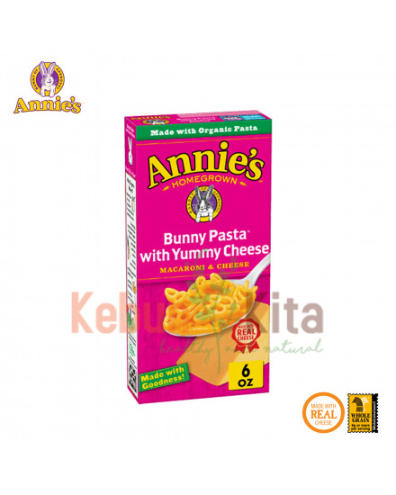 Annie's Bunny Pasta with Yummy Cheese 170 gr