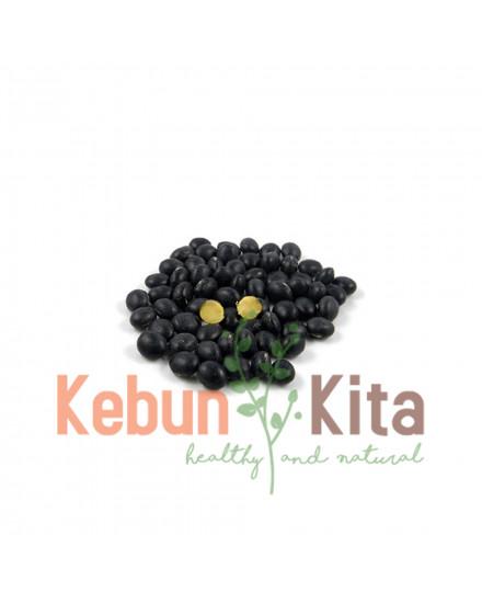 Kedelai Hitam Organik 500gr (Organic Black Soy Beans)