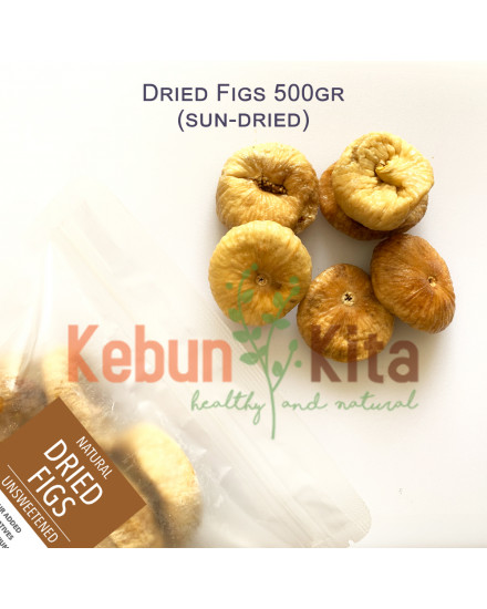 Dried Figs 500gr ( Whole - Utuh Buah Ara / Tin Kering )