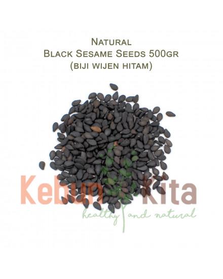 Biji Wijen Hitam ( Black Sesame Seeds )